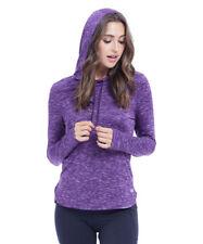 Hoodie Jumper Size UK 10 Ladies Womens Workout Purple Dry Wik Top BNWT #194