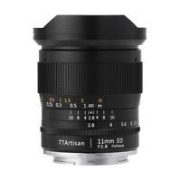TTArtisans Fisheye11mm F2.8 Full Fame Lens LEICA SL2 FP Typ601 mount camera