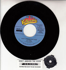 """B. B. KING  Don't Answer The Door & Paying The Cost To The Boss 7"""" 45 record NEW"""