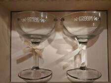 Hallmark Set of Wedding Toasting Glasses