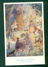 THE GATES OF FAIRYLAND BY MARGARET TARRANT,vintage postcard