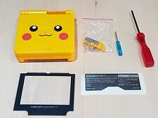 Pikachu Shell Nintendo Game Boy Advance SP Replacement New Housing with tools