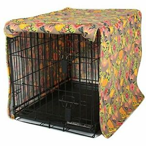 """Molly Mutt Dog Crate Cover Time After Time Huge Small 24"""""""