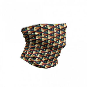 Ambesonne Abstract Design Face Guard Neck Warmer for Face Protection