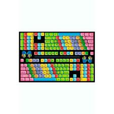 La Rug Ft-100 5178 Fun Time Keyboard- Multi-Color