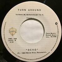 """Devo Azotalo / Volteate 7"""" 45rpm Mexico Press Synth-pop New Wave 1980 nm"""