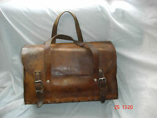 Vintage Leather Satchel / Bag