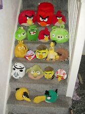 Angry Birds Soft Toys Job Lot Star Wars Angry Birds Pigs Pigs In Space x 18