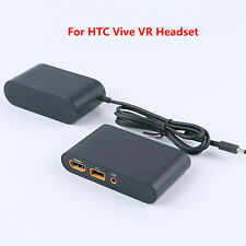 For HTC Vive VR Headset Virtual Reality Link Box + Charger Power Adapter Cable