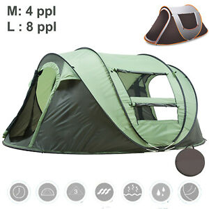 Portable Outdoor Waterproof Big Large Family Instant Pop Up Beach Camping Tent