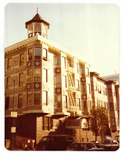 Vintage 80s PHOTO Old Beautiful Apartment Building In San Francisco