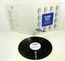 Die Audio-Hörtest-Platte LP - Messplatte HI-FI STEREO M-/EX 180 Gramm audiophile
