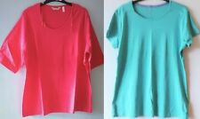 Unbranded Women's Collarless Hip Length Tops & Shirts