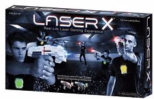 Laser X Real-Life Laser Gaming Experience Set for Two Players