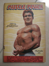 RIVISTA MUSCLE POWER 1945 BODYBUILDING