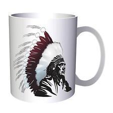 Native American Chief Indian Gift Art 11oz Mug d605