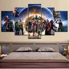 Marvel Avengers Infinity War 5 Piece Childrens Bedroom Canvas Art Print Poster