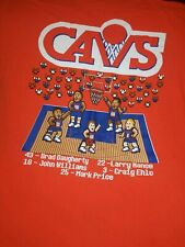 Cleveland Cavs Cavaliers NBA Throwback  Hardwood Classics T Shirt Sz Medium