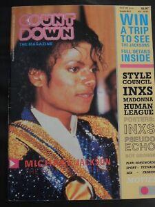 Countdown Music Magazine July 1984 Michael Jackson INXS Boy George Pseudo Echo