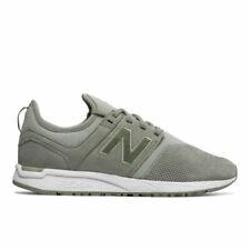 New Balance Nubuck 247 Women's Sport Sneakers Shoes Silver Mint/White 7.5 D