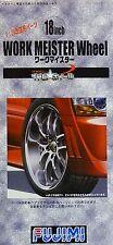 FUJIMI 19333 18inch Work Meister Wheel (4 Felgen mit Reifen) (TW-64) in 1:24