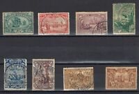 Portugal Azores Stamps | Seaway to india | 1898 | #88-95 Cancelled
