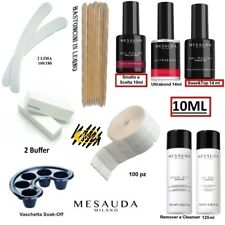 Kit Smalti Semipermanente Unghie Gel Polish 10ml Mesauda Milano Professionale.