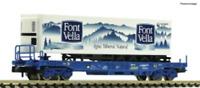Fleischmann 845374 N Gauge RENFE Sdgkkmss Wagon w/Font Vella Container V