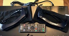 SONY BDP-S590 3D Blu-Ray Player WITH * 2 * TWO SONY 3D GLASSES COVERS MANUALS