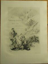 Édouard-Henri/P/Paul Avril/Artist-Signed 1902 Theatre Program w/Nude, Octopus