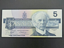 1986 $5 Bank of Canada Banknote Bill GPY26264_ _ (Consecutive) Knight Dodge UNC