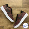 Nike Air Force 1 Flyknit 2.0 Men's Trainers Red Black White CI0051-600 Size 8-13