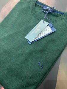 Maglione hb maglia Harmont & Blaine Lana Merinos Uomo Colore Verde Mis L