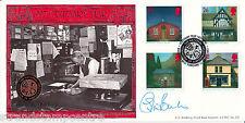 1997 sub bureaux de poste-Bradbury lfdc officiel-signé par Colin Baker