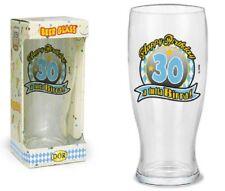 BICCHIERE BIRRA 30 ANNI - Gadget stampato idea regalo festa 30° Compleanno