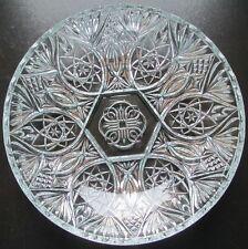 Schöne schwere Bleikristallschale, Ø 31 cm, Höhe 6 cm, Gewicht  1670 g