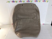 NOS ACURA TL 2000-2003 BEIGE LEATHER-LIKE RIGHT PASS. TOP FRONT SEAT COVER OEM