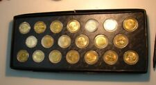 20 GOLD LAYERED STATE QUARTERS - NEW YORK MINT - 1999 2000