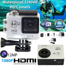 Waterproof SJ4000 1080P Action Sports Camera DV WiFi Helmet Video DVR Camcorder