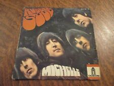 45 tours THE BEATLES rubber soul michelle ODEON MEO 102