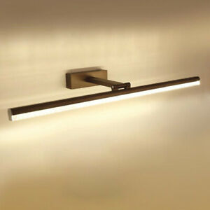 LED Vanity Lighting Bathroom Wall Light Makeup Mirror Front Fixture Adjustable