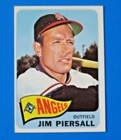 1965 TOPPS JIMMY PIERSALL BASEBALL CARD #172 ~ NM