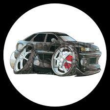 Koolart 4x4 4 x 4 Spare Wheel Graphic Ford Granada Scorpio Sticker 1203