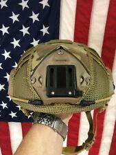 HIGoperator helmet airsoft Maritime HELMET MULTICAM + mesh Cover