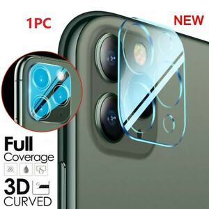 Tempered Glass Camera Lens Screen Protector Cover For iPhone 12 mini 11 Pro Max