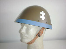 Czech Slovak German ally army original WW2 WWII M32 EGG SHELL helmet sz. MEDIUM