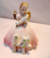 "Josef Orginals 14Th Girl Birthday Angel Cake Topper 6 "" Tall Pink"
