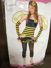 HONEY BEE COSTUME TEEN SIZE MED(7-9) BEE THE BUZZ AT THE PARTY!!!! SUPER CUTE