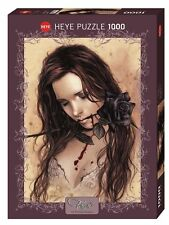 Puzzle Puzzel HEYE Dark Rose Favole Victoria Frances Romantik Frau Blut 1000