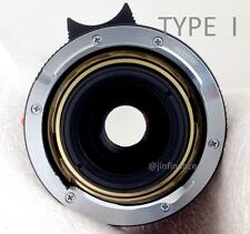 3pc 6 bit flange adapter 4 Leica lens 28 90mm 35mm 50mm 75mm type I